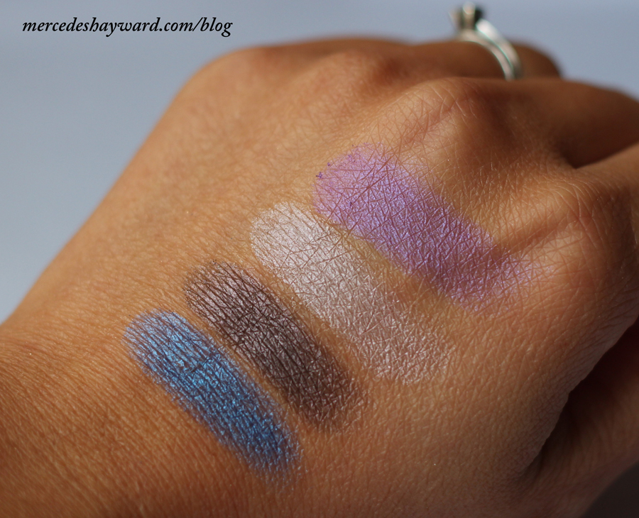 Swatch KIKO Shadow in 227 (third from left)