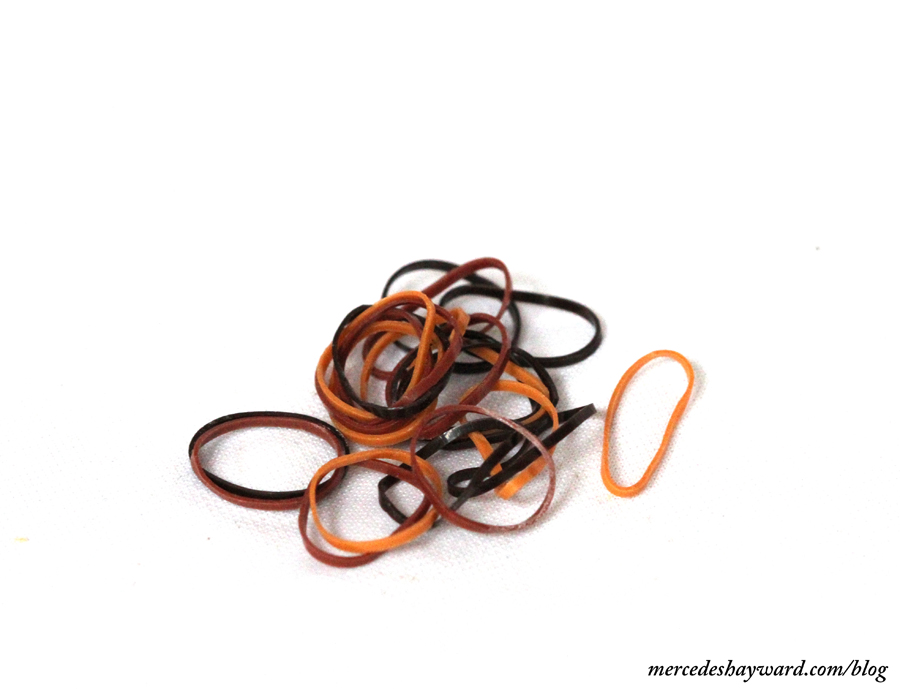 Tan hair bands