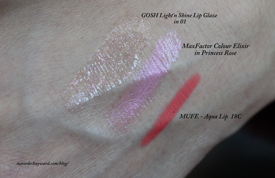 Lip combo  - Swatches