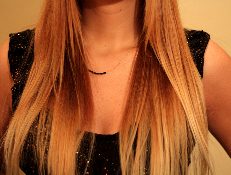 Poker Straight Ombre Hair - My way