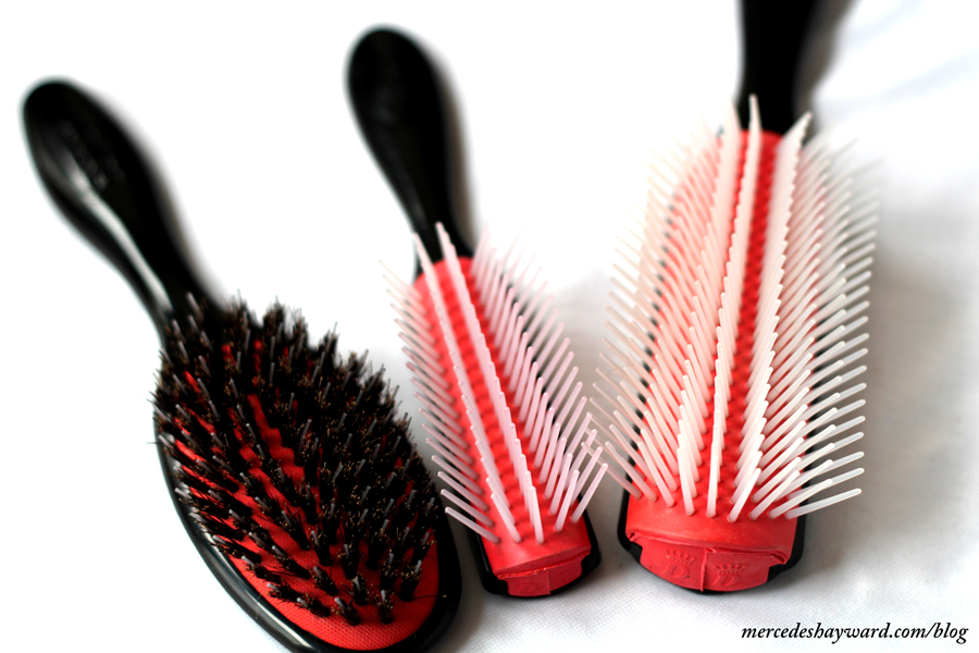 My Denman Hair Brushes