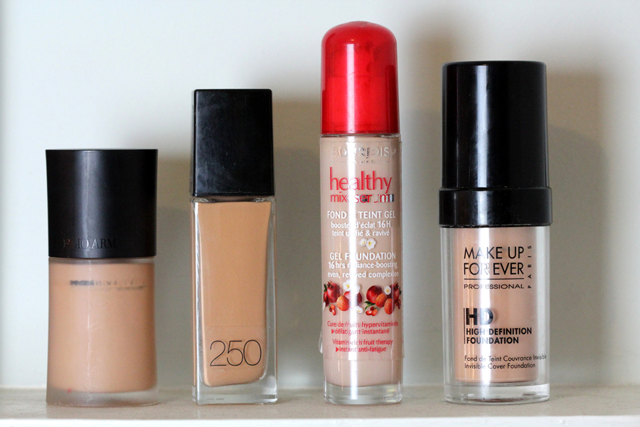 2013 Foundation Saviours (High End & Drugstore)